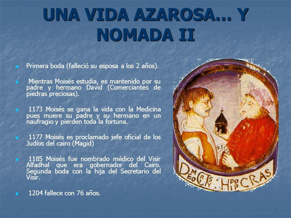 UNA VIDA AZAROSA… Y NOMADA II
