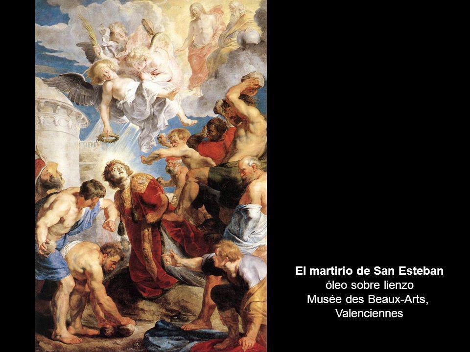 El martirio de San Esteban óleo sobre lienzo Musée des Beaux-Arts,