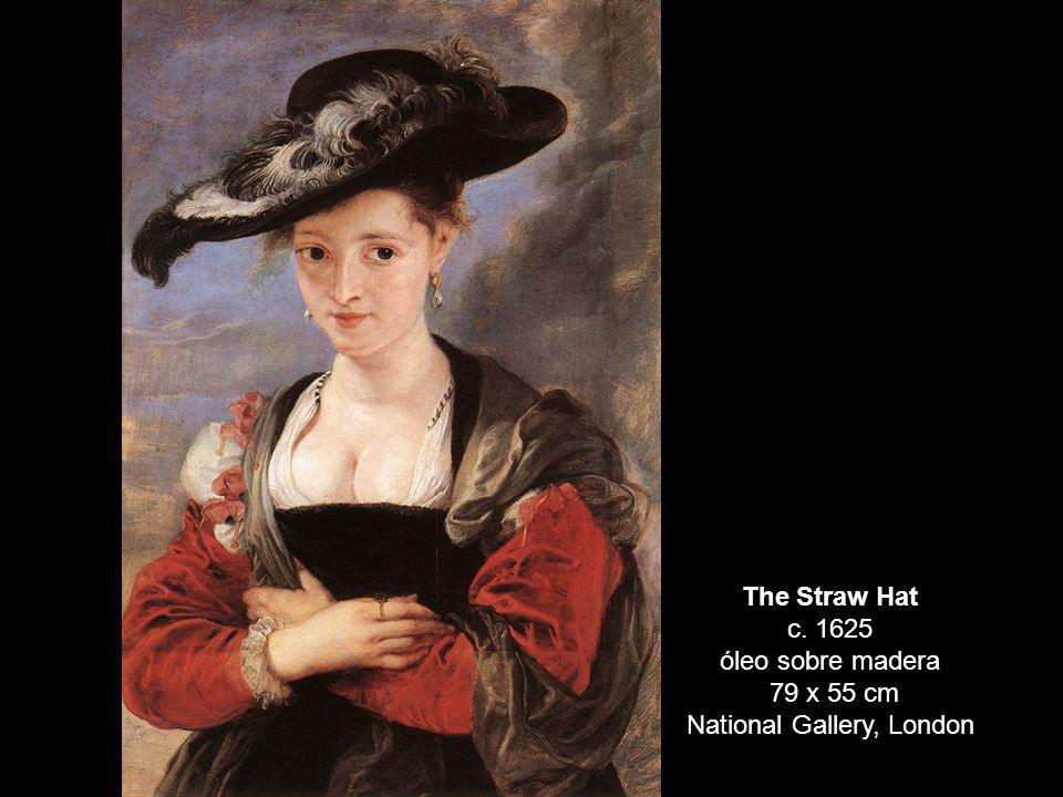 The Straw Hat c. 1625 óleo sobre madera