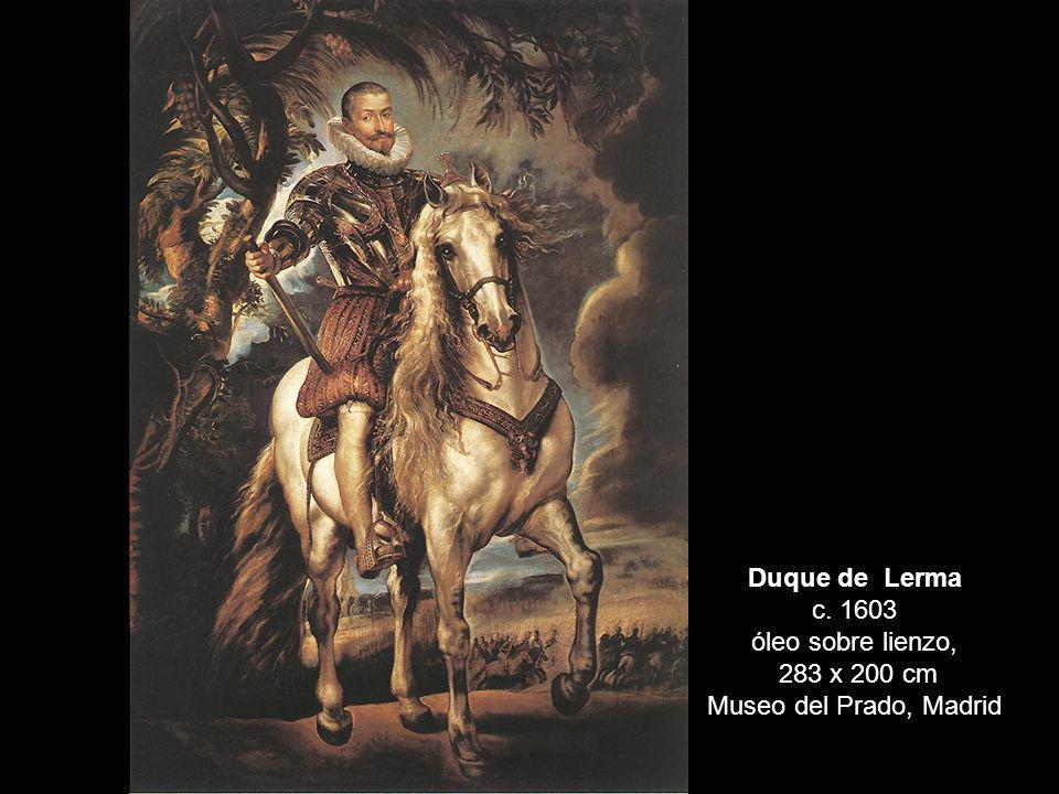 Duque de Lerma c. 1603 óleo sobre lienzo,