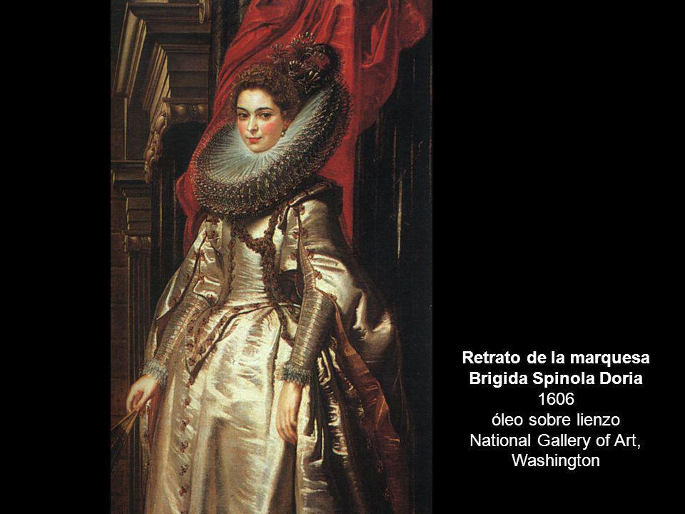 Retrato de la marquesa Brigida Spinola Doria 1606 óleo sobre lienzo National Gallery of Art, Washington