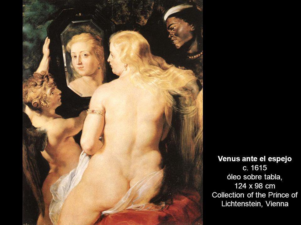 Venus ante el espejo c. 1615 óleo sobre tabla,