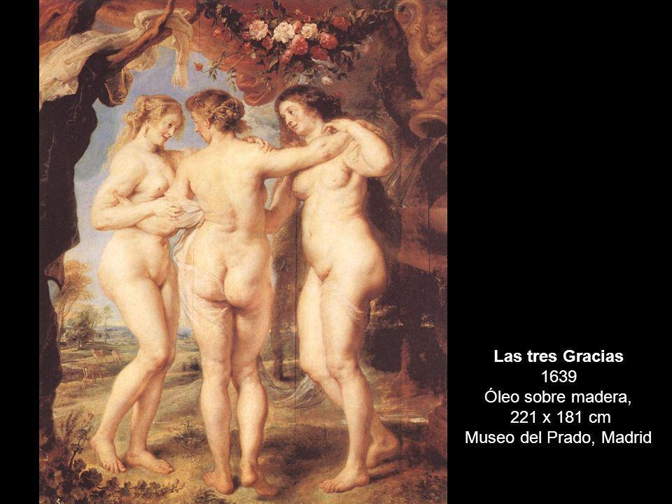 Las tres Gracias 1639 Óleo sobre madera,