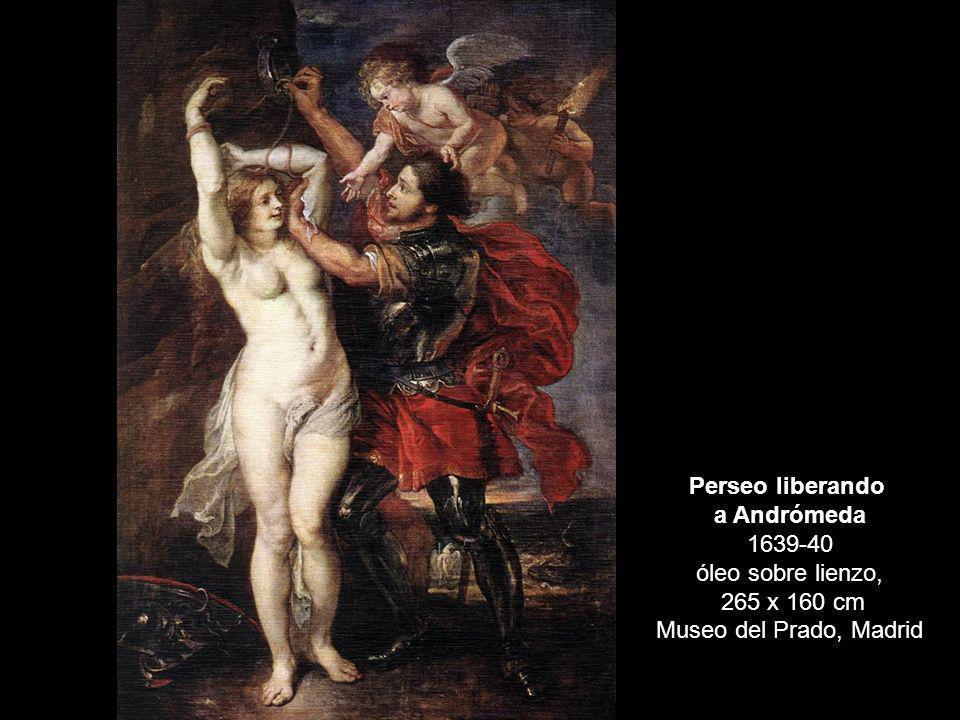 a Andrómeda 1639-40 óleo sobre lienzo,
