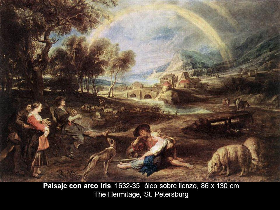 Paisaje con arco iris 1632-35 óleo sobre lienzo, 86 x 130 cm