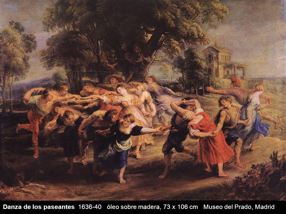Danza de los paseantes 1636-40 óleo sobre madera, 73 x 106 cm Museo del Prado, Madrid