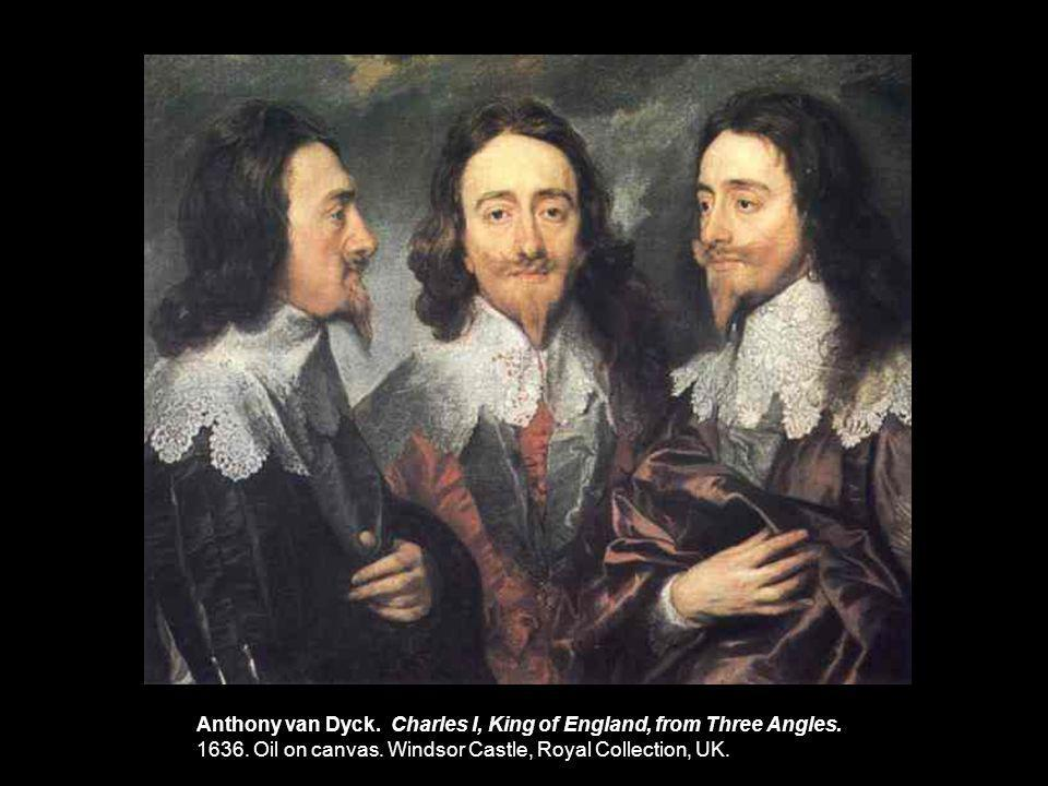 Anthony van Dyck. Charles I, King of England, from Three Angles.