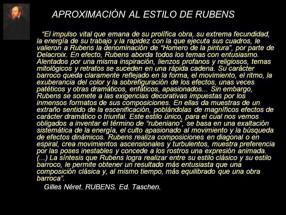 APROXIMACIÓN AL ESTILO DE RUBENS