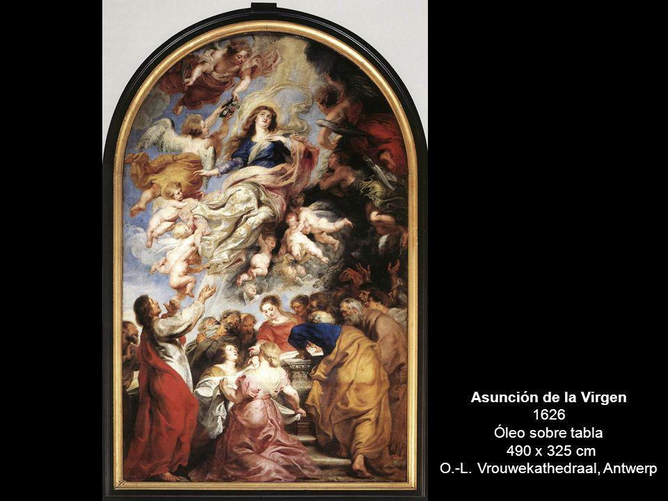 Asunción de la Virgen 1626 Óleo sobre tabla