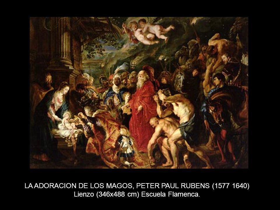 LA ADORACION DE LOS MAGOS, PETER PAUL RUBENS (1577 1640)