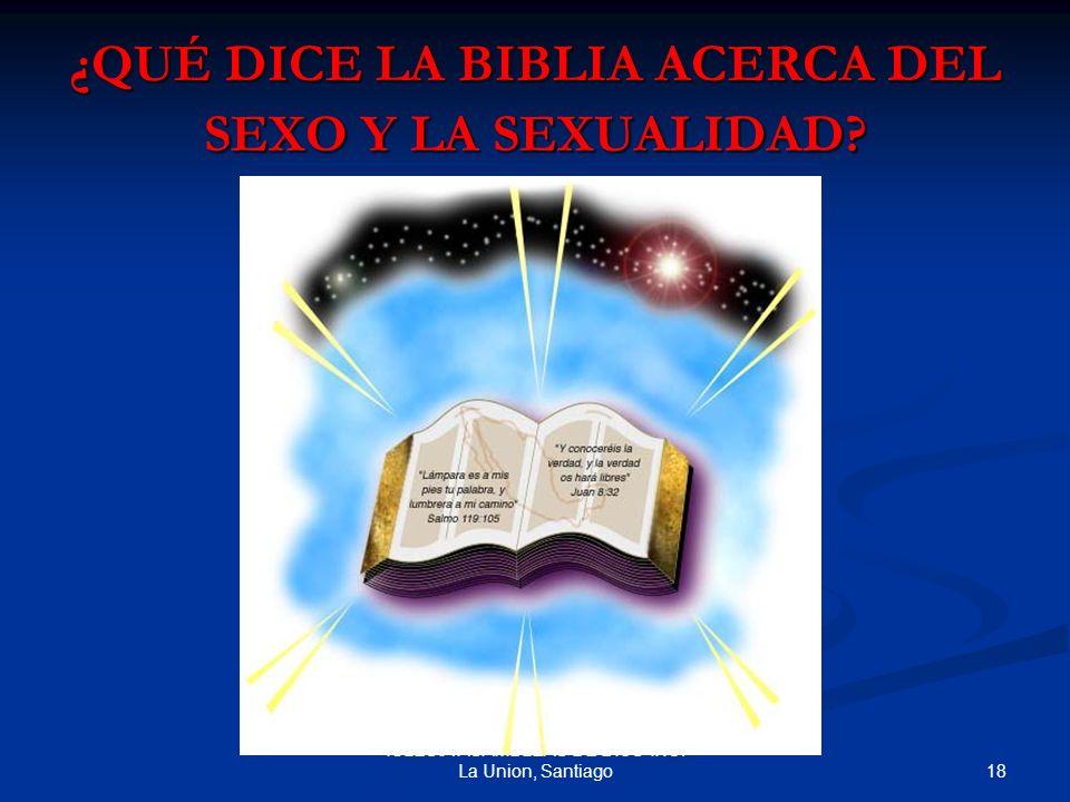 ¿QUÉ DICE LA BIBLIA ACERCA DEL SEXO Y LA SEXUALIDAD