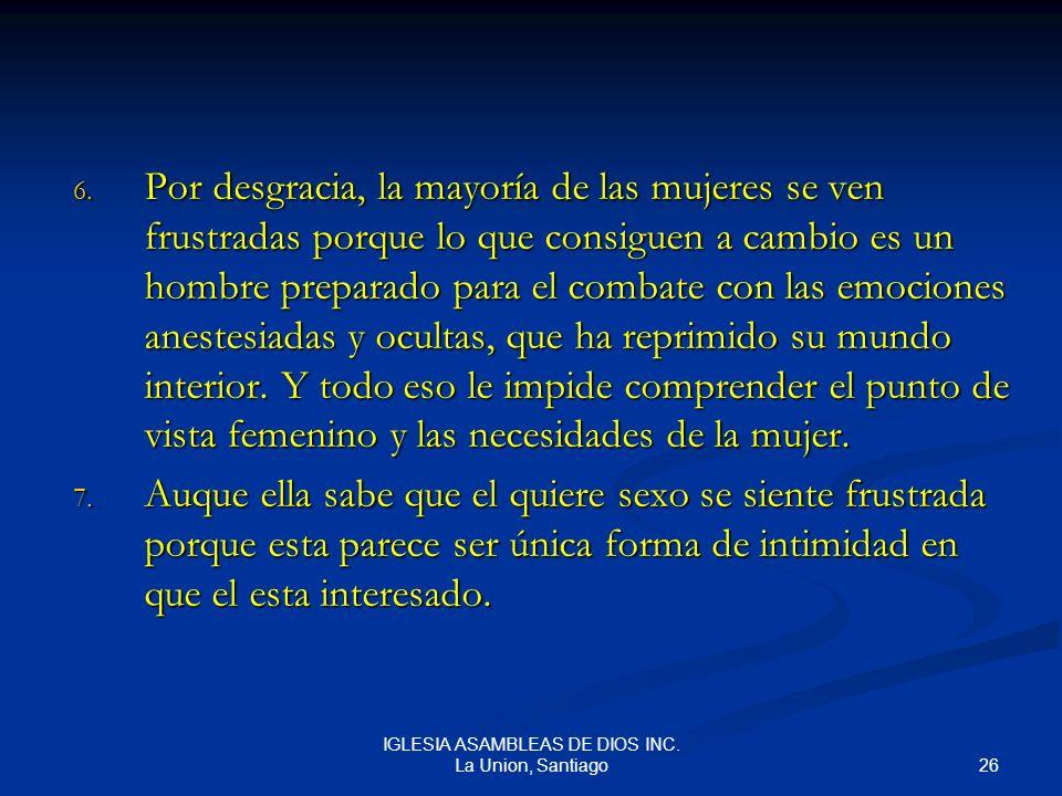 IGLESIA ASAMBLEAS DE DIOS INC. La Union, Santiago