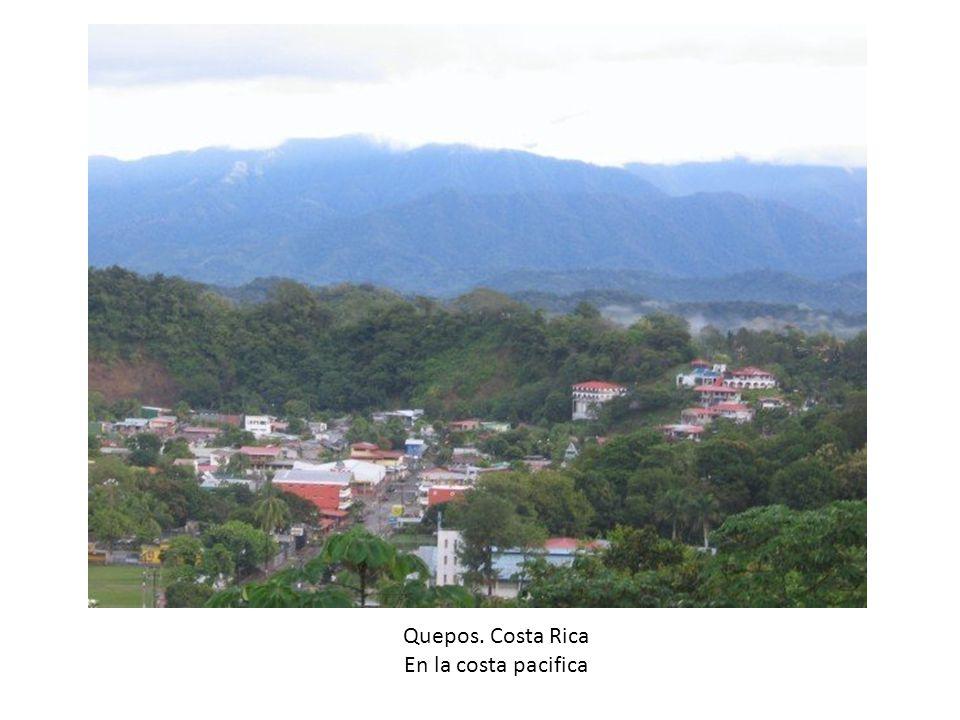 Quepos. Costa Rica En la costa pacifica