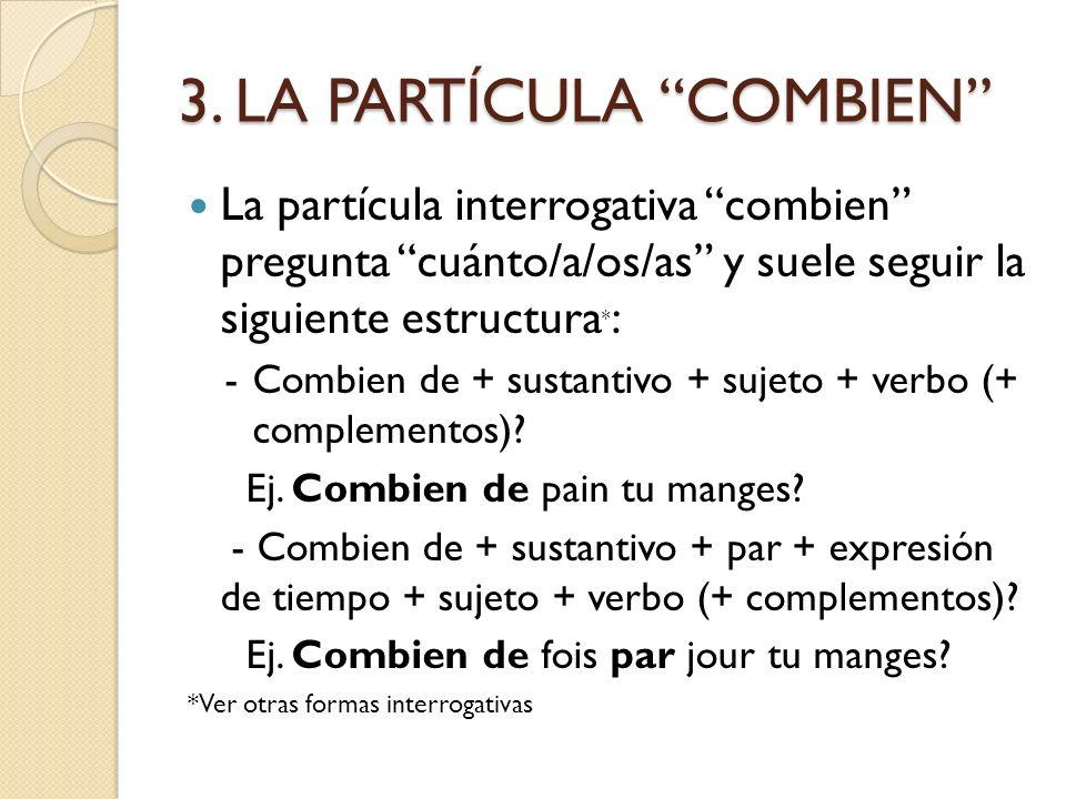 3. LA PARTÍCULA COMBIEN