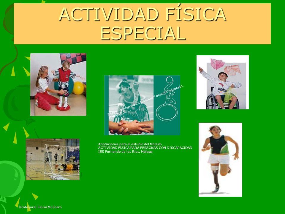 ACTIVIDAD FÍSICA ESPECIAL