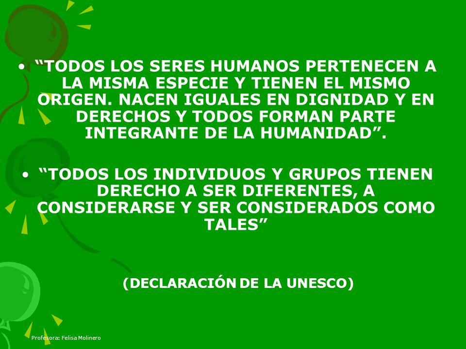 (DECLARACIÓN DE LA UNESCO)