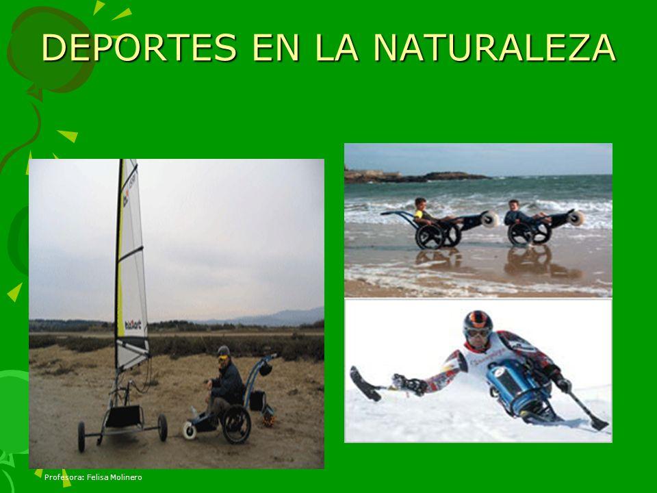 DEPORTES EN LA NATURALEZA