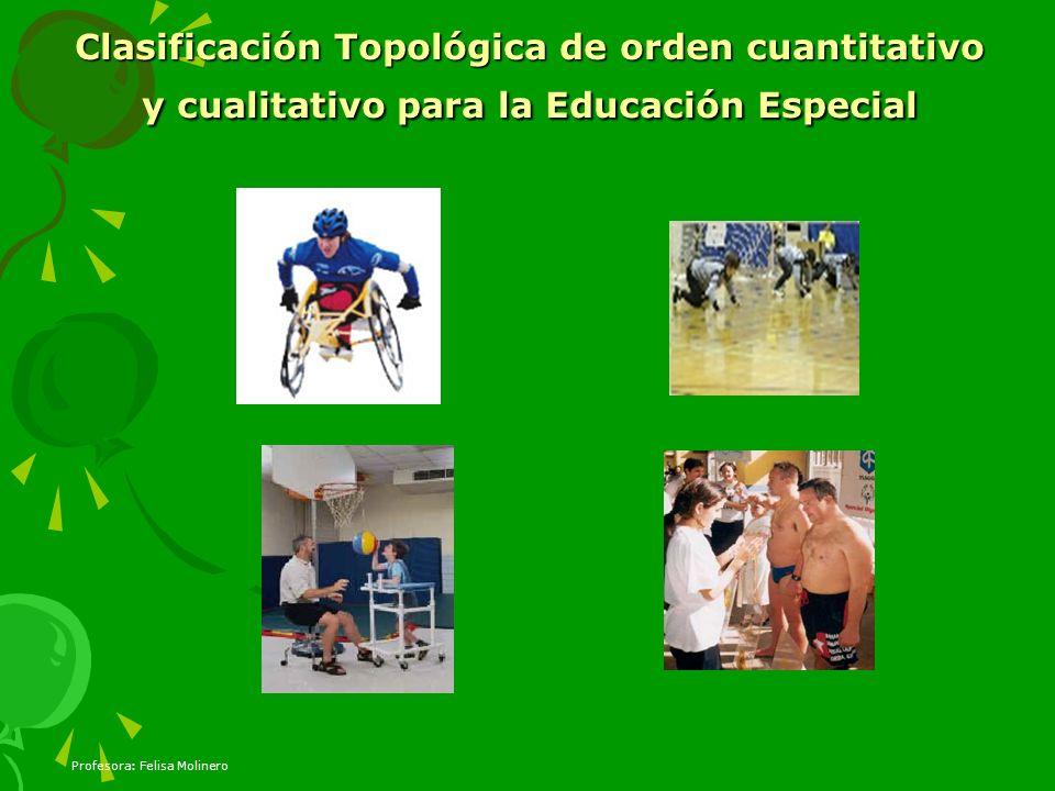Clasificación Topológica de orden cuantitativo y cualitativo para la Educación Especial