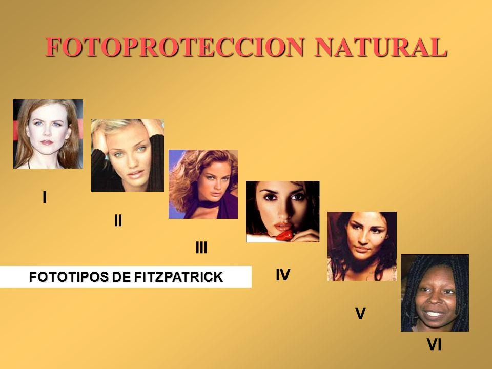 FOTOPROTECCION NATURAL
