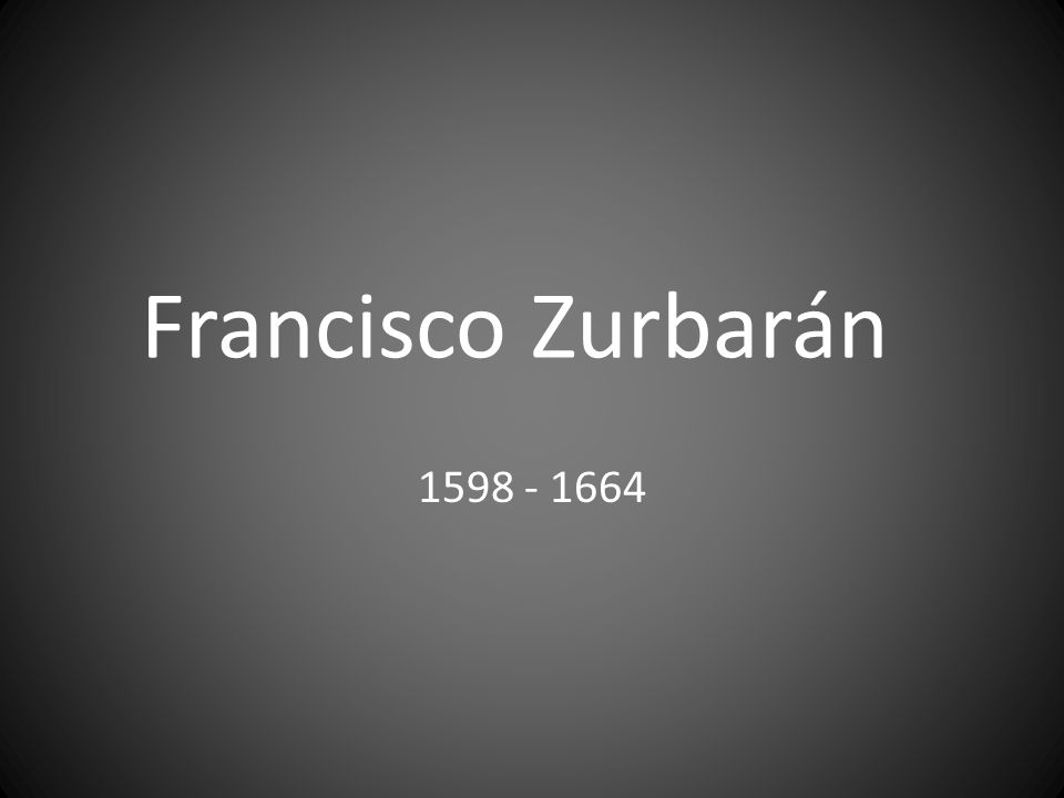 Francisco Zurbarán