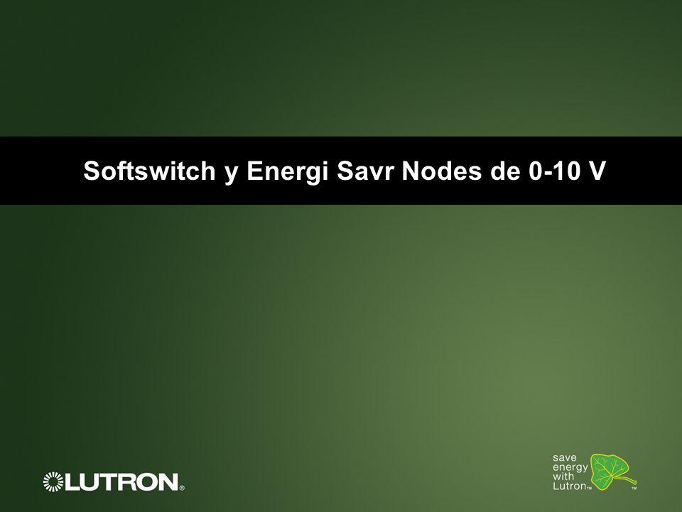 Softswitch y Energi Savr Nodes de 0-10 V