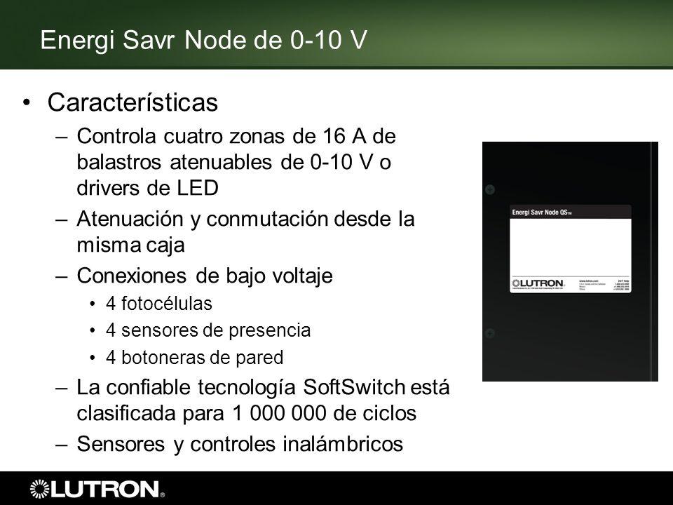 Energi Savr Node de 0-10 V Características