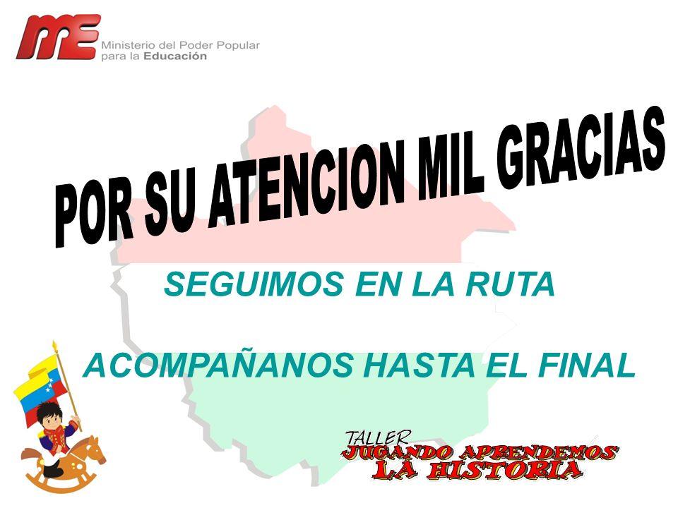 ACOMPAÑANOS HASTA EL FINAL