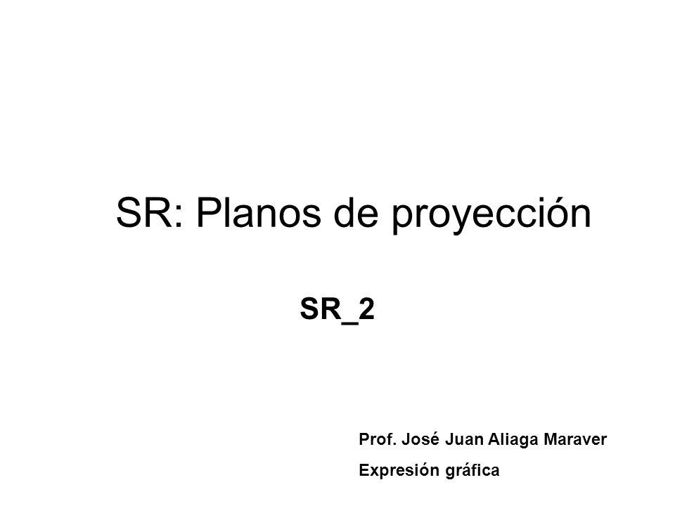 SR: Planos de proyección