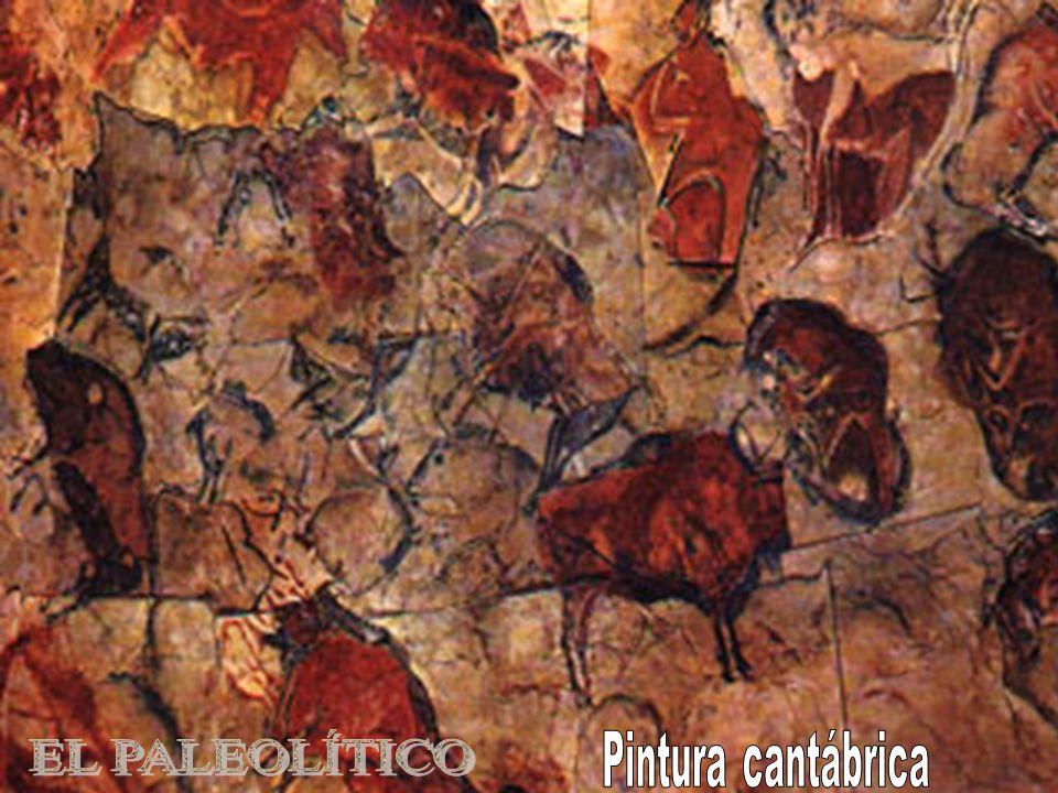 EL PALEOLÍTICO Pintura cantábrica