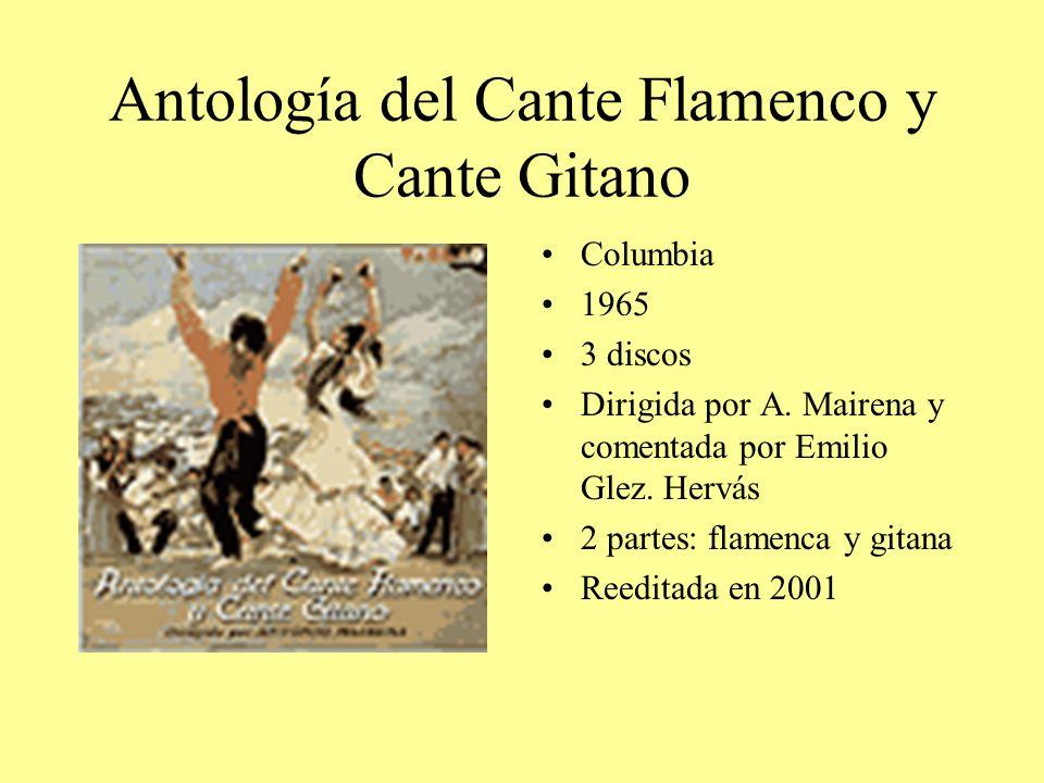 Antología del Cante Flamenco y Cante Gitano