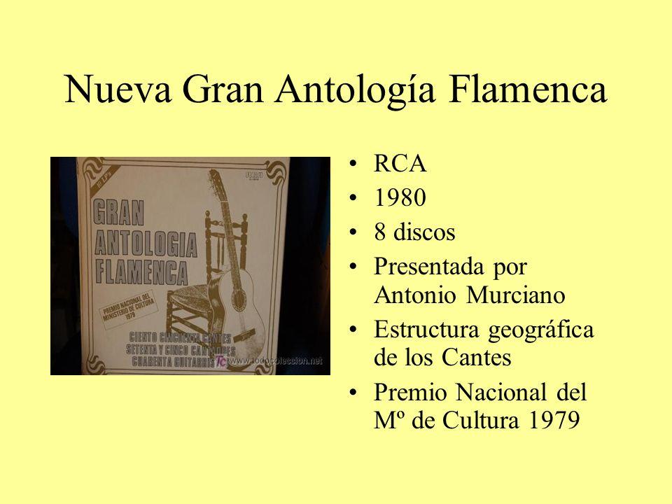Nueva Gran Antología Flamenca