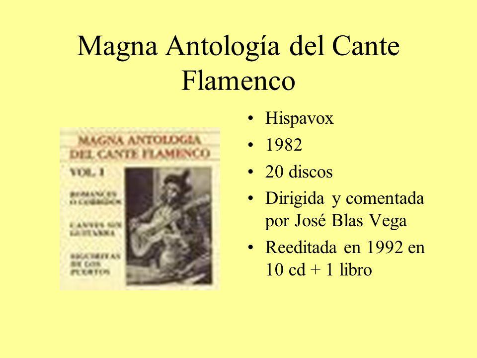 Magna Antología del Cante Flamenco