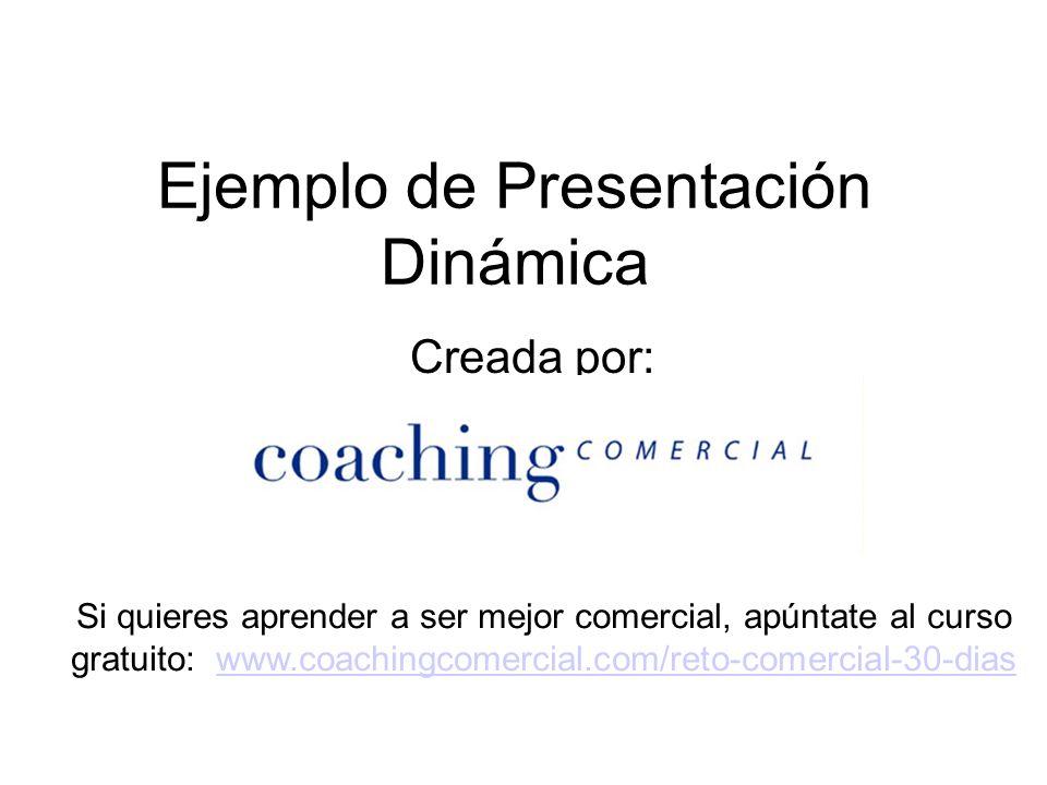 Ejemplo de Presentación Dinámica