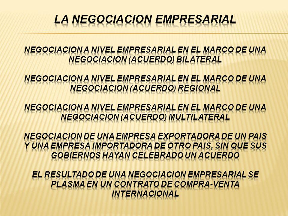 Los PROCESOS DE NEGOCIACION comercial BILATERAL del Perú - ppt descargar