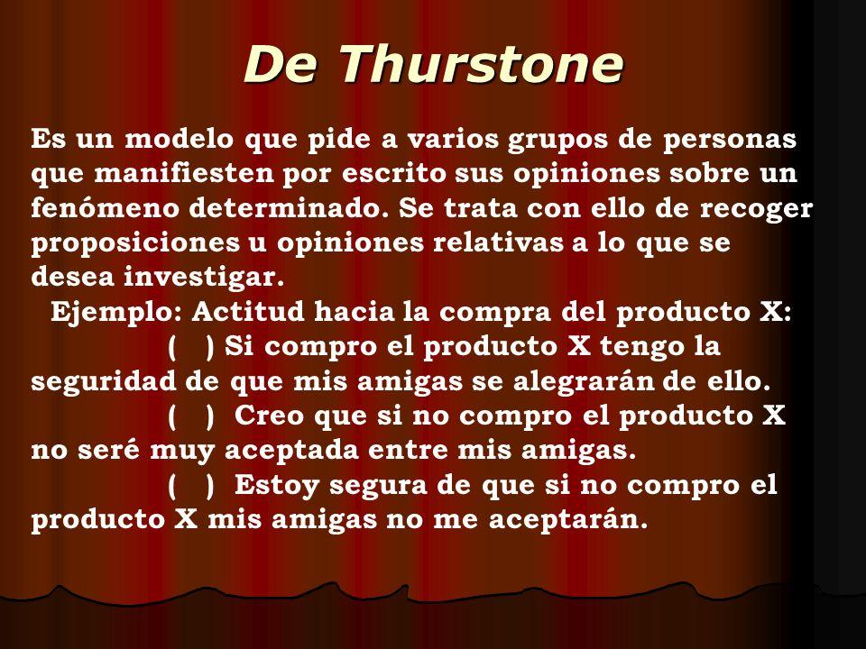 De Thurstone