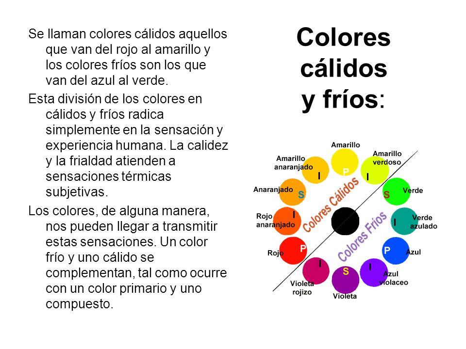 Colores complementarios ppt video online descargar - Los colores calidos y frios ...