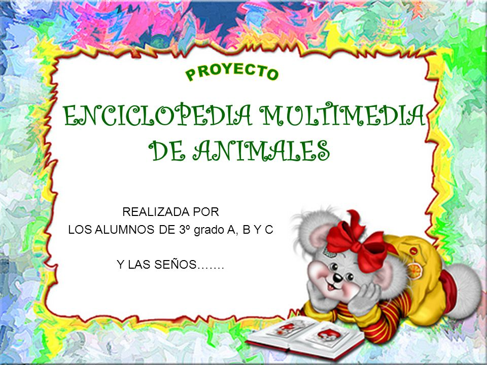 ENCICLOPEDIA MULTIMEDIA DE ANIMALES