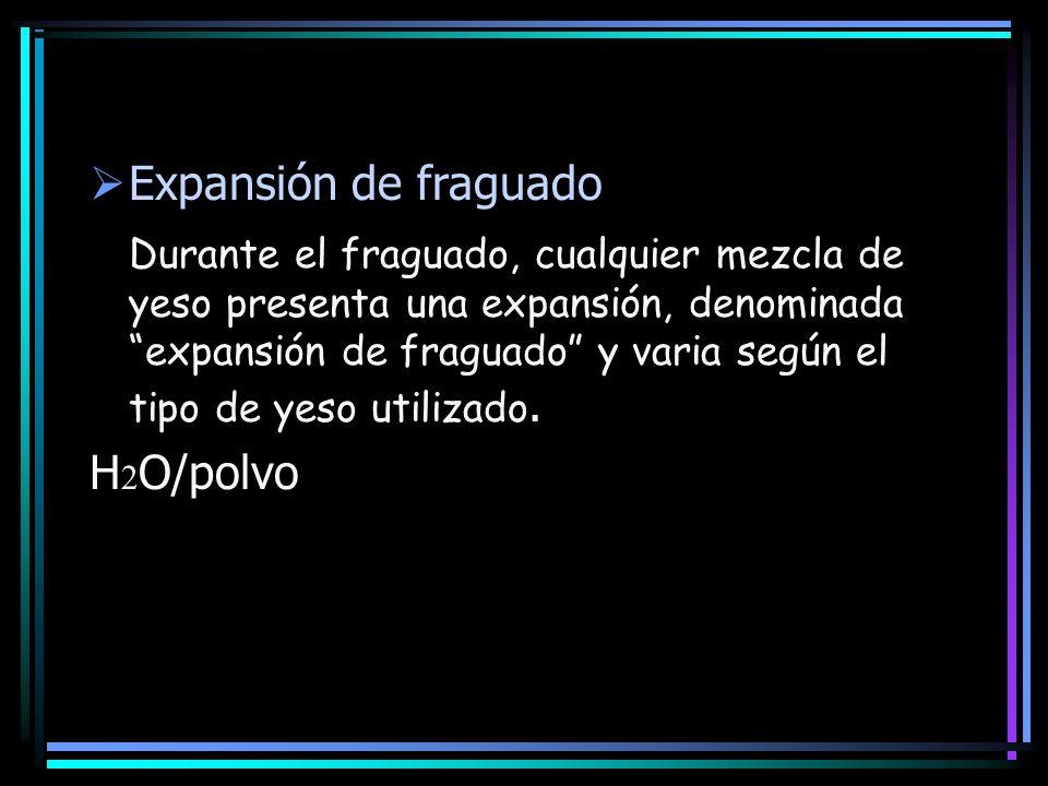 Expansión de fraguado