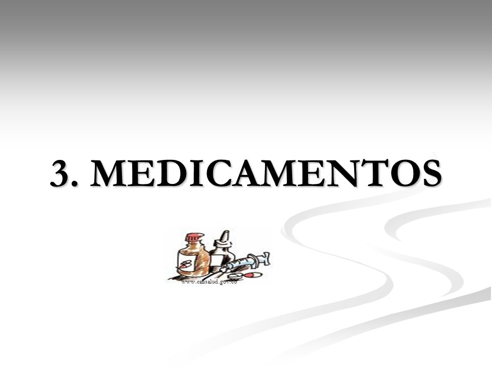 3. MEDICAMENTOS www.calisalud.gov.co