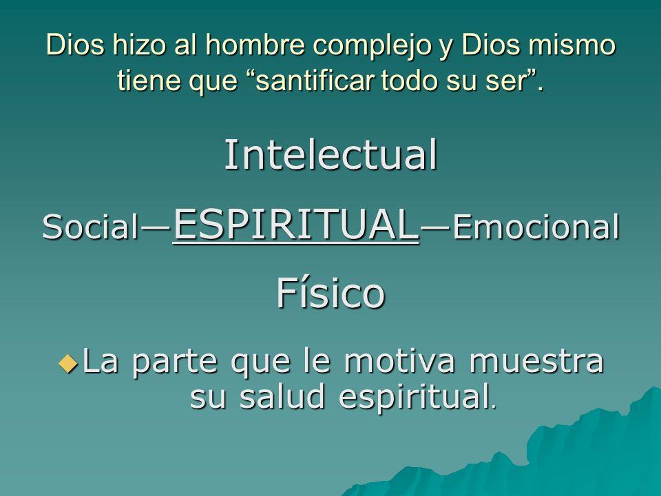 Intelectual Físico Social—ESPIRITUAL—Emocional