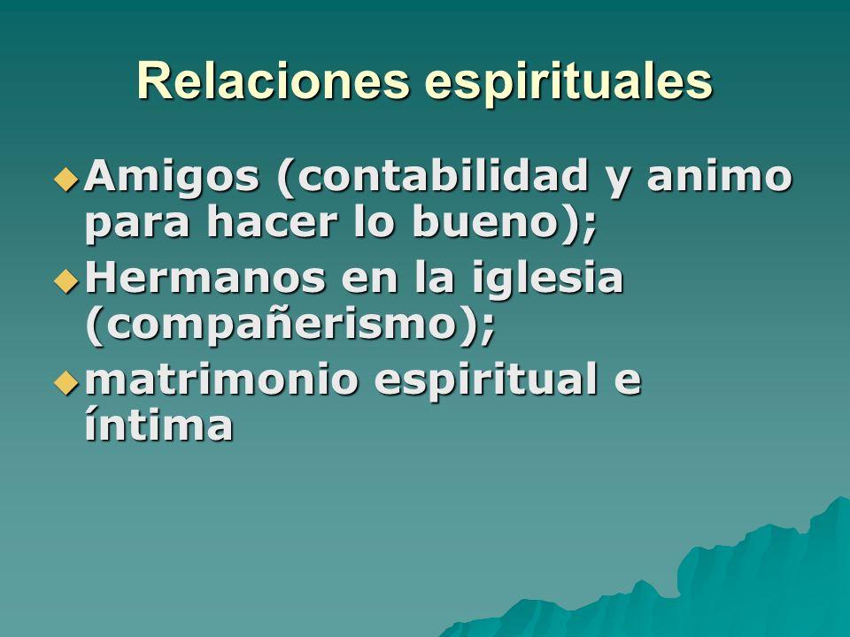 Relaciones espirituales