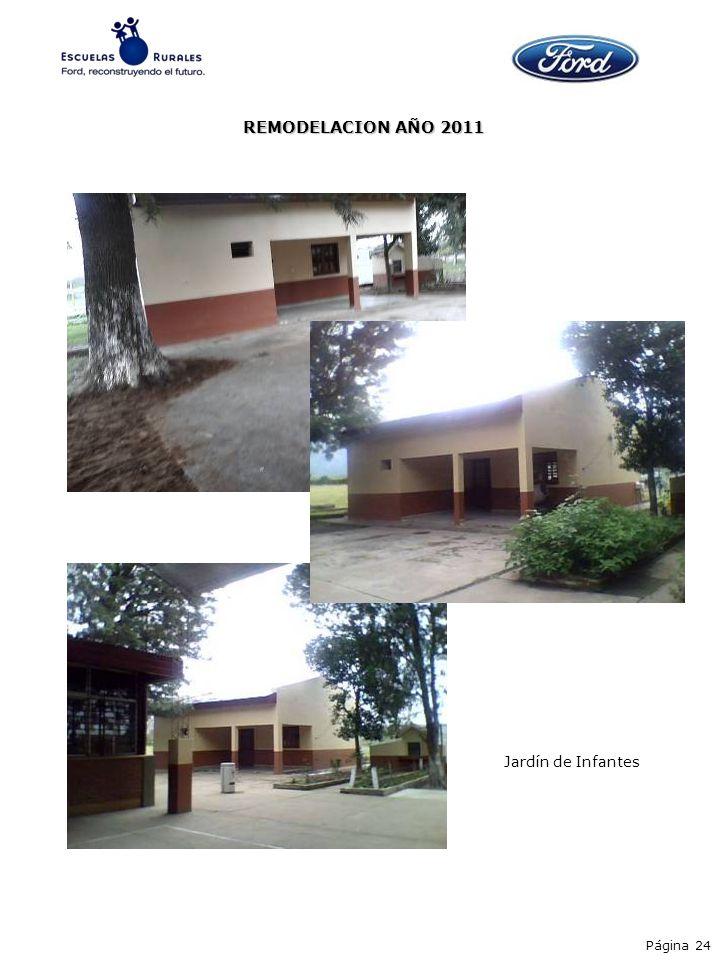 REMODELACION AÑO 2011 Jardín de Infantes Página 24