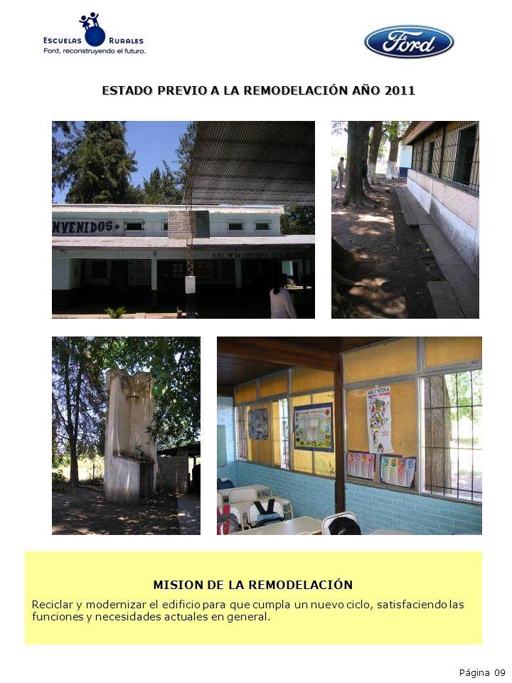 ESTADO PREVIO A LA REMODELACIÓN AÑO 2011