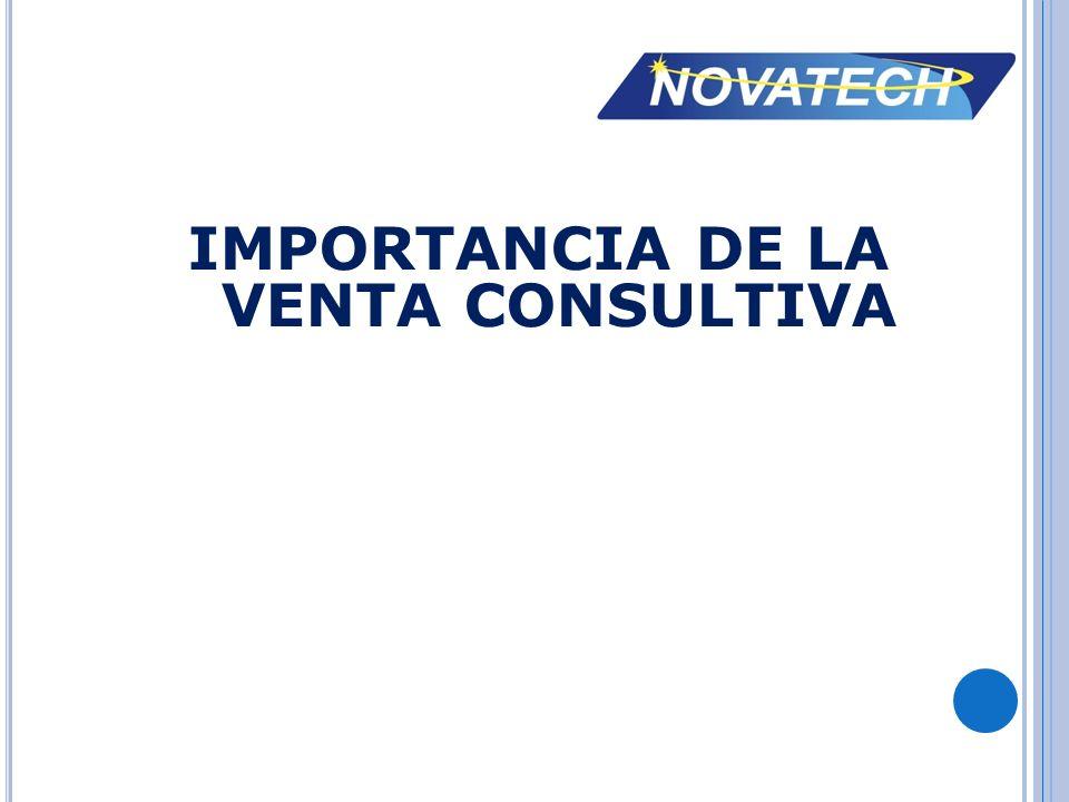 IMPORTANCIA DE LA VENTA CONSULTIVA