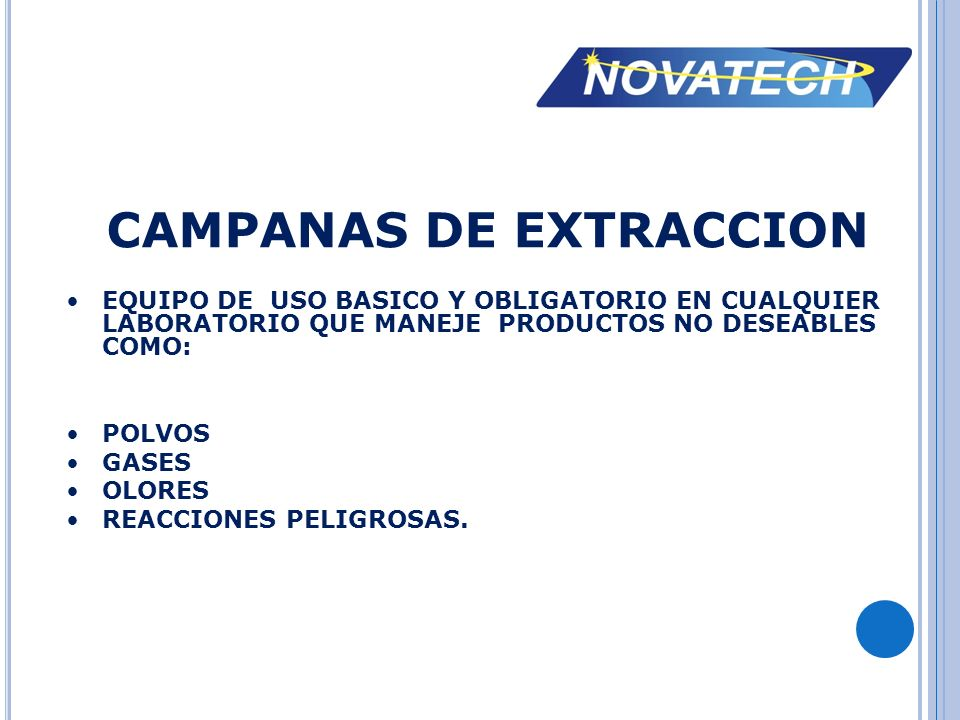 CAMPANAS DE EXTRACCION