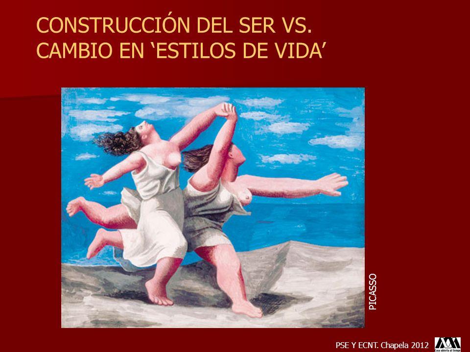 CONSTRUCCIÓN DEL SER VS. CAMBIO EN 'ESTILOS DE VIDA'