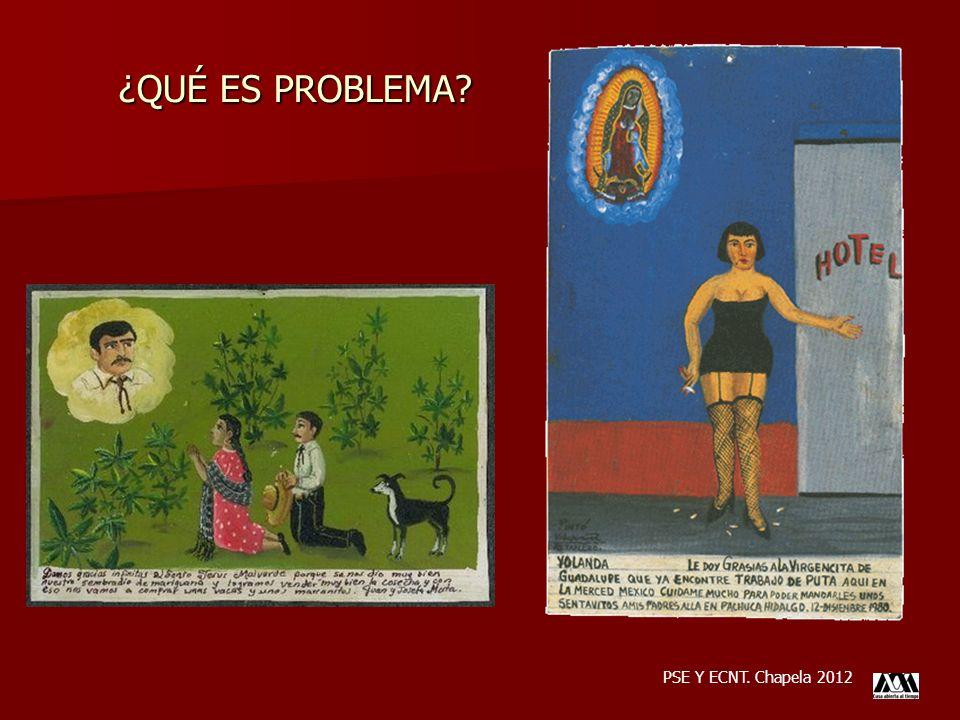 ¿QUÉ ES PROBLEMA PSE Y ECNT. Chapela 2012
