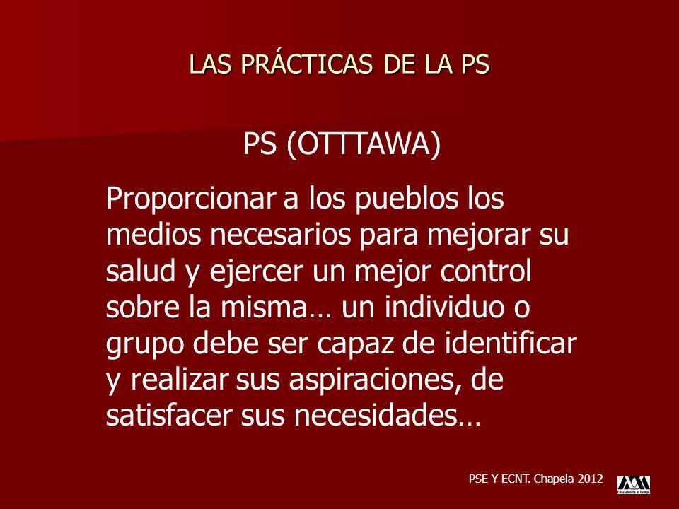LAS PRÁCTICAS DE LA PS PS (OTTTAWA)