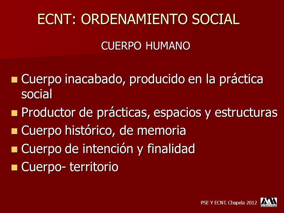 ECNT: ORDENAMIENTO SOCIAL