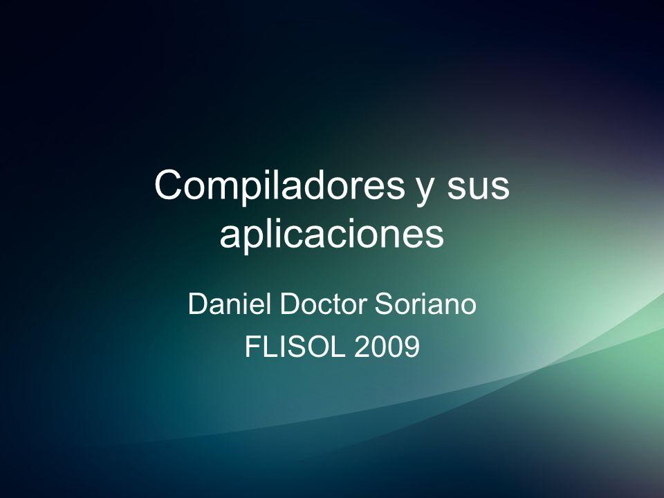 Compiladores y sus aplicaciones